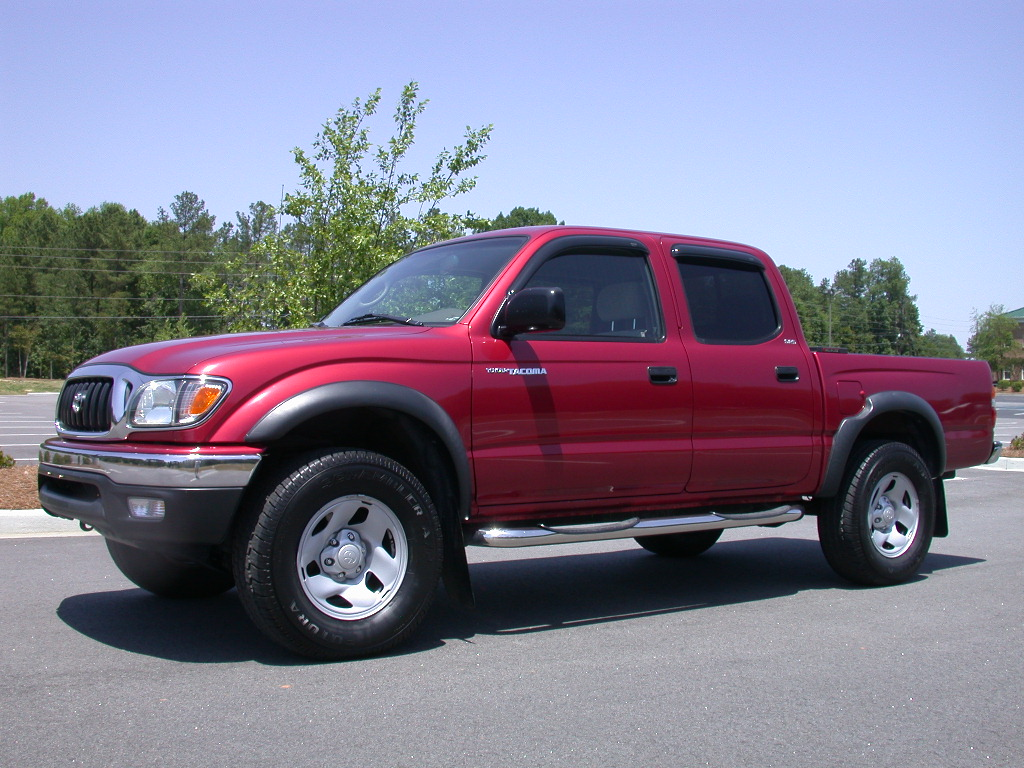 Great 2003 Toyota Tacoma Double Cab SR5 2WD   SOLD.